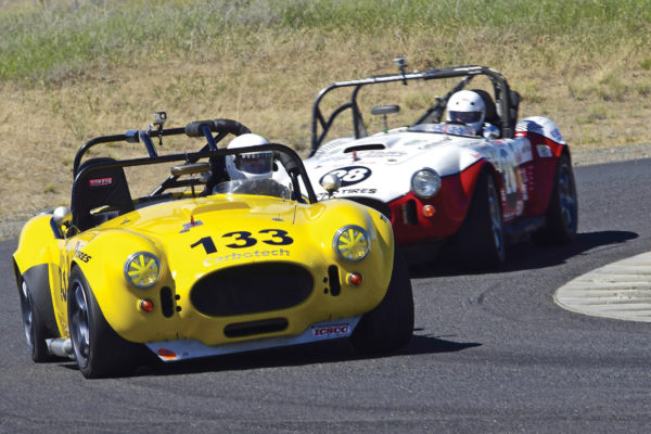 Steve Powell's Cobra replica is ahead of the curve at the Spokane Festival of Speed.