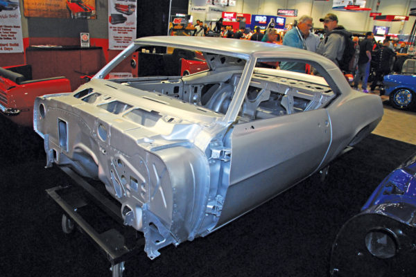 Adept Classic Bodies, made in Dallas, Texas,  offers wide-body shells and mini-tubbed sheet metal for a variety of domestic cars.