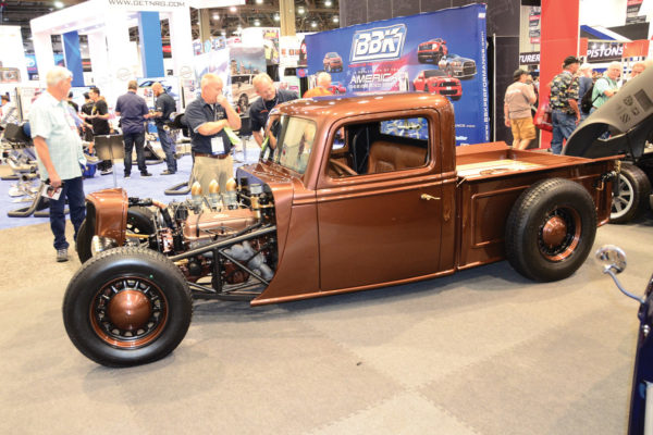 Extending its range of models to the '35 Ford, Factory Five now has a metal-body pickup version as well.