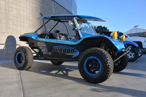 Mini Manx: This Manx-style buggy is actually a Polaris RZR UTV underneath.
