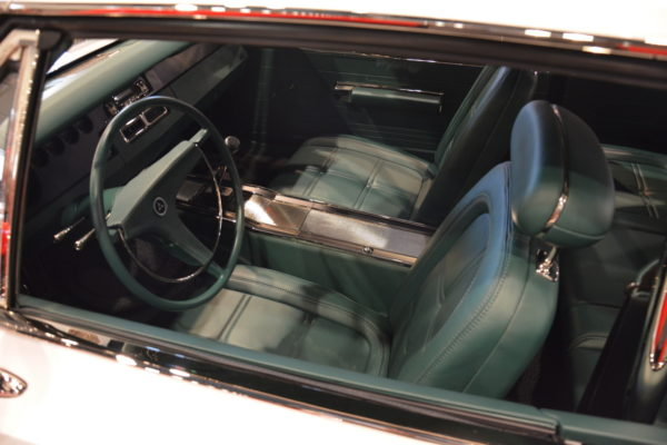 You'd have to be very familiar with late '60s Mopar interiors to see what was done on this Charger. The seats have a similar look to the originals, but in a trimmed down and tighter form.