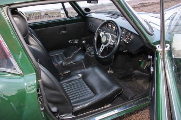 Willie Platt's T6 is more plush, with rebuilt Triumph Spitfire seats, a period dashboard, carpets and door trim.