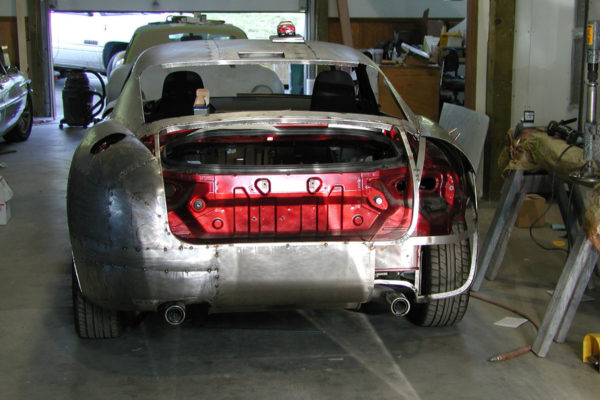 Simpson Design Miata Based Aston Martin Db4 Gt 10