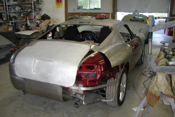Simpson Design Miata Based Aston Martin Db4 Gt 8