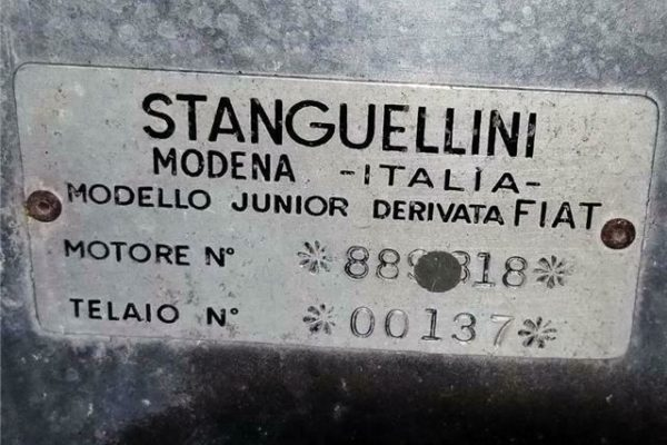 Stanguellini Fj 13