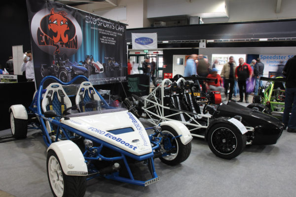 Nottingham-based Exo Sports Cars sell several kits in the U.S., including the Yamaha R1-based tR1ke and Ford Zetec-powered Exotech.