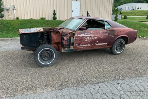 Stripped Shelby Gt500 13