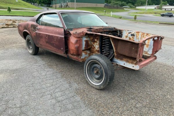 Stripped Shelby Gt500 3
