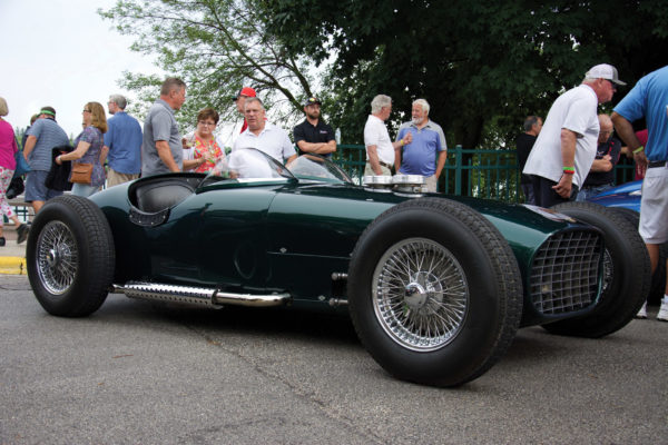 The original 1959 Troy Roadster was displayed alongside the Troy Indy Special at the 2019 Elkhart Lake (Wisconsin) Concours d'Elegance.