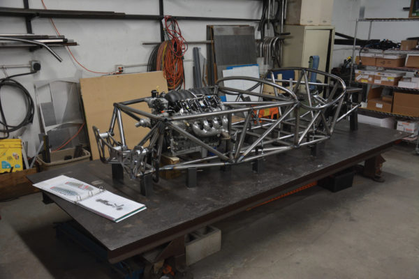 The Troy Indy Special prototype was developed 