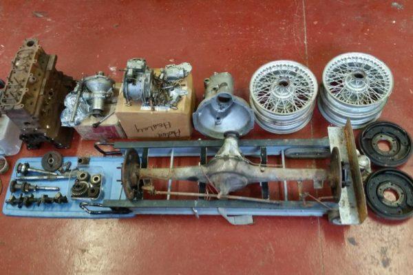 V8 Austin Healey 3