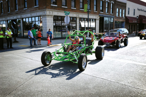 A cruise through downtown Effingham is all part of the party.