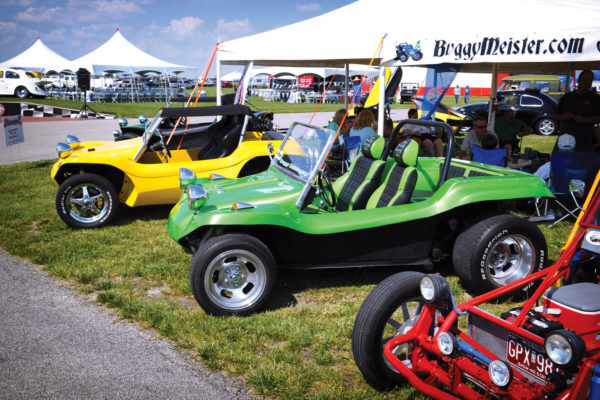 To connect with fellow dune-buggy enthusiasts, check out the Buggymeister VW Club of Waterloo, Illinois.