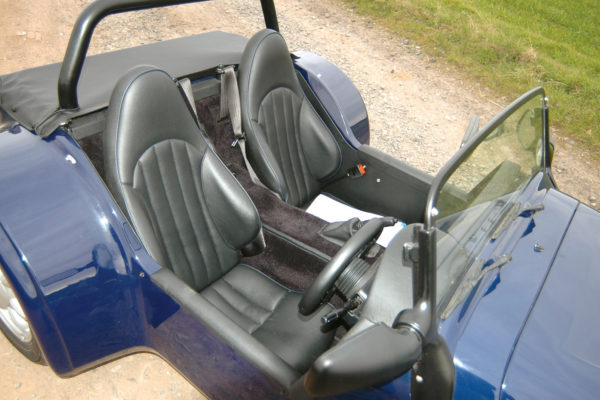 More modern seat designs provide better bolsters and comfort.
