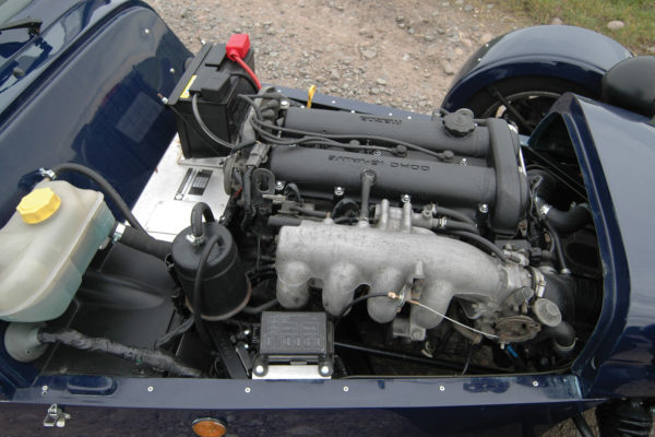 Mazda's DOHC 16-valve engine comes in 1.6 and 1.8 sizes: reliable, economical, reasonably powerful.
