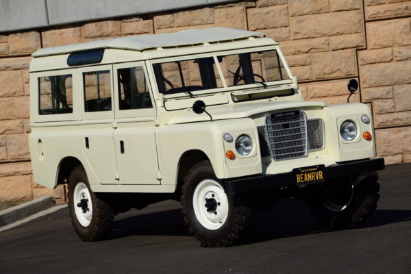 This '74 Series II was a straight restoration. Fortunately, the vehicle had been stored in the drier climate of a Spanish vineyard, so it was in comparatively good condition. Land Rovers in the wetter U.K. often suffer from corrosion.