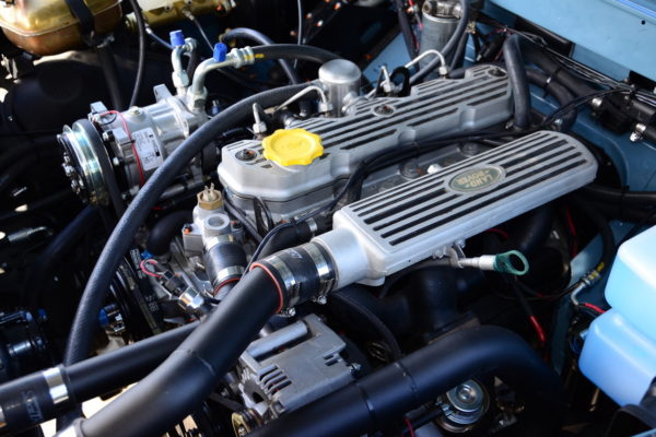 The factory 2.5-liter 200 TDI was fitted with a bigger aftermarket turbo for more grunt to get up the grade, along with Racepak's Street SmartWire system that replaces the antiquated factory fuse setup.