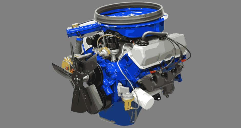 351 Cleveland Engine 2