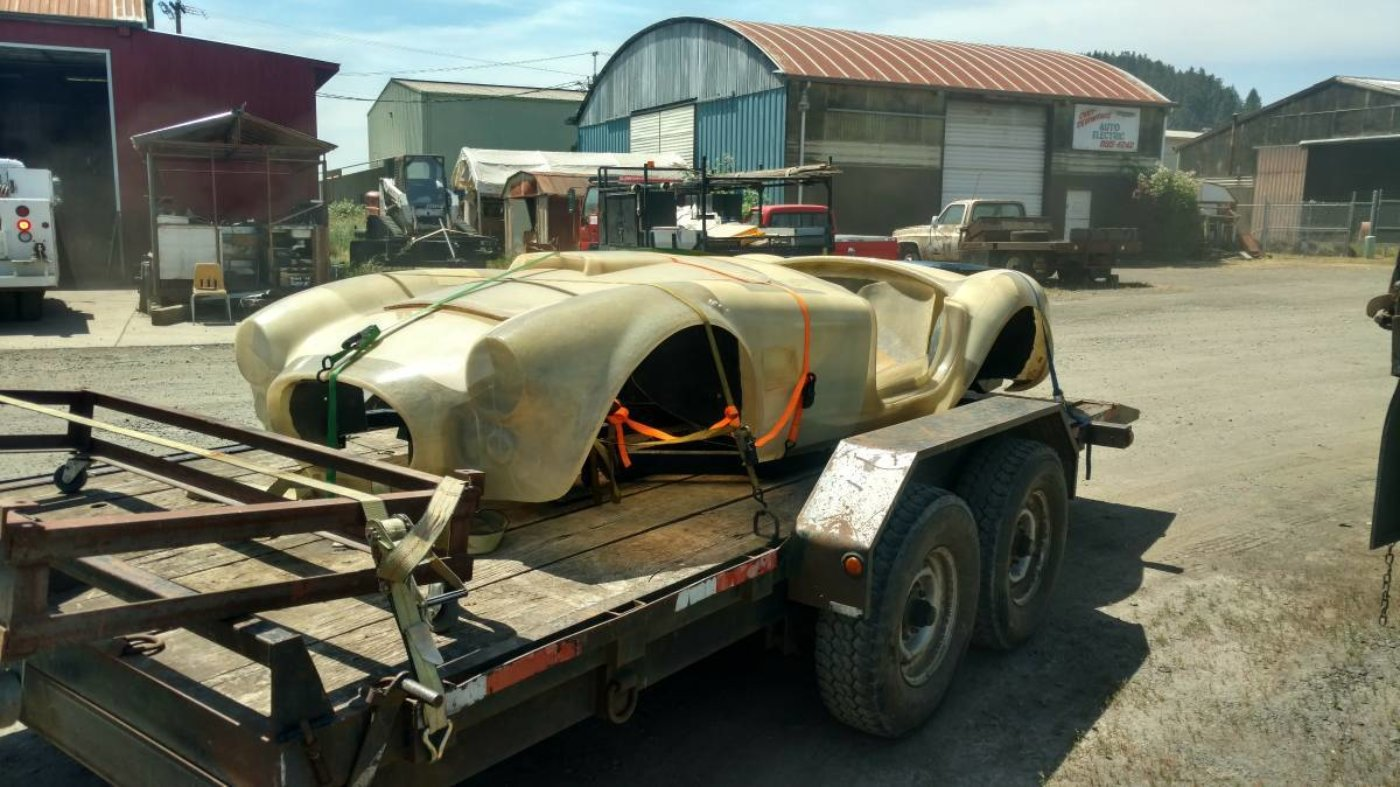 Cheap Shelby Cobra project for sale | ReinCarNation Magazine