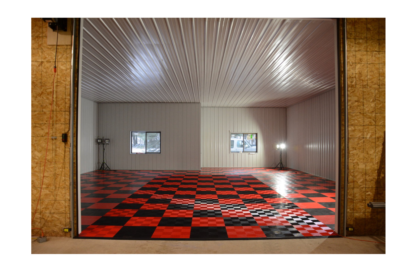 Racedeck Modular Garage Flooring Tiles Reincarnation Magazine