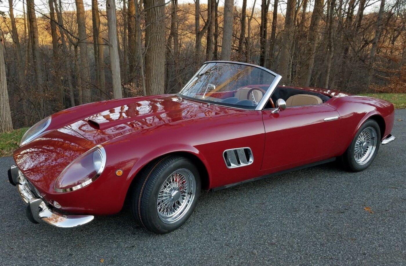 Ferrari 250 Gt California >> 250 Gt California Replica For Sale Reincarnation Magazine