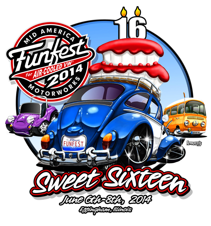 VW Funfest Unveils Logo for 2014
