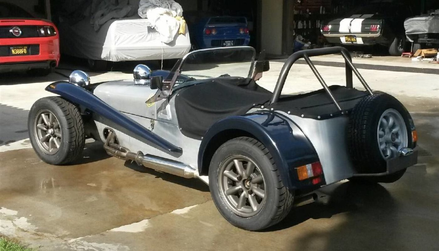 Affordable Lotus Seven Replicas From Craigslist Rare Car Network