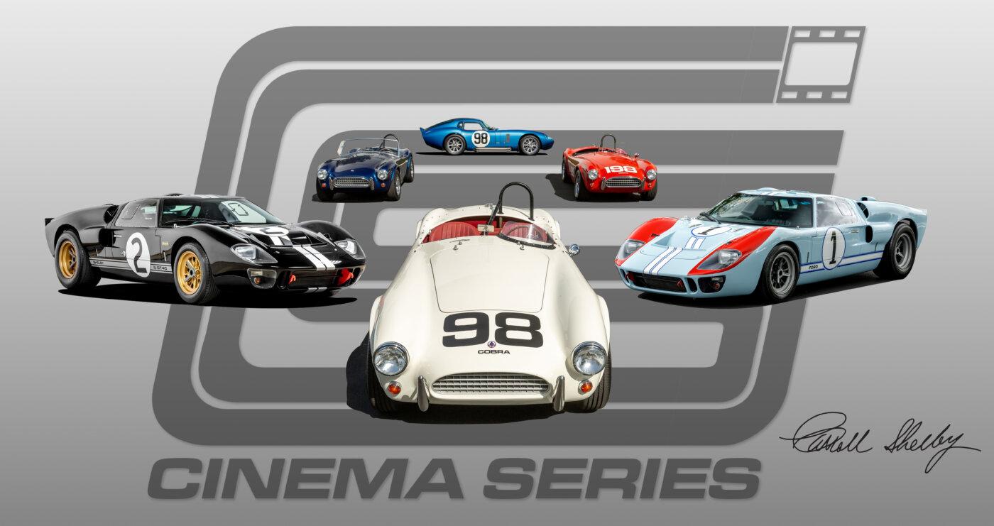 Cinema Series Car Honor Cars Of Ford V Ferrari Rare Car Network