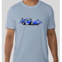 Blue Daytona With Palm Trees